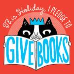 Give Books Pledge logo