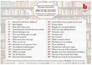 Book A Day list