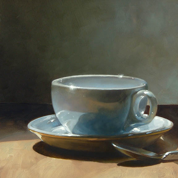 Coffe Cup & Spoon_James Neil Hollingsworth