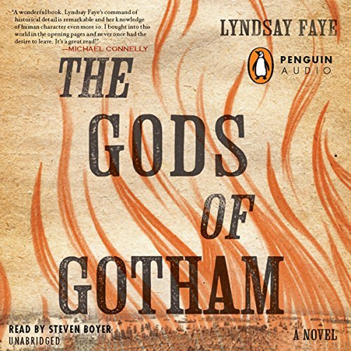 The Gods of Gotham cover