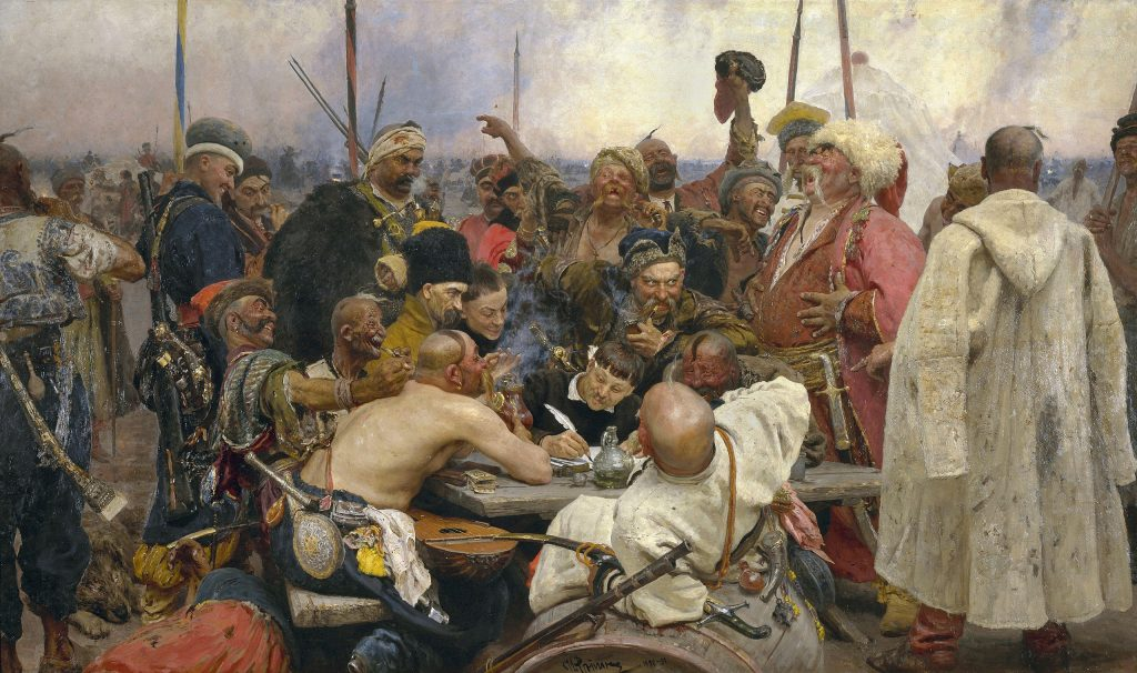 Repin_-_Reply_of_the_Zaporozhian_Cossacks_Yorck